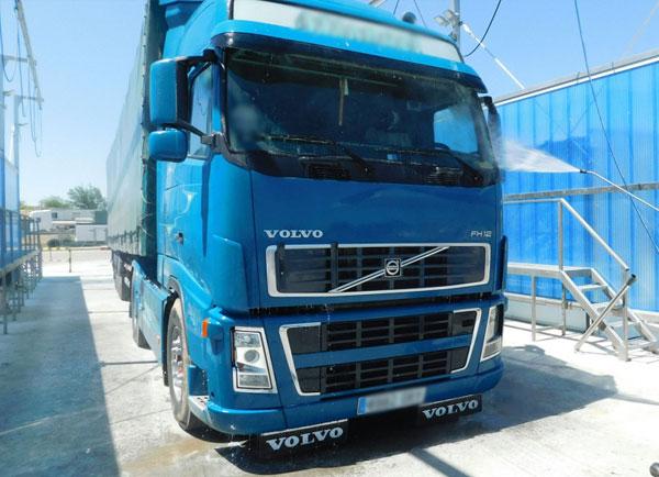 Lavadero de camiones La Joyosa (Zaragoza)