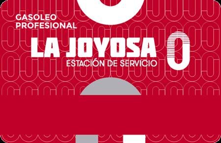 Tarjeta de crédito con Gasóleo Profesional La Joyosa